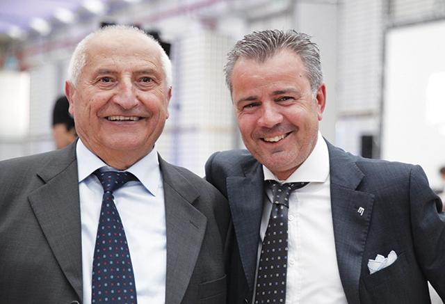Foto di Baldassarre Monge  ideatore della Monge spa e dell'attuale amministratore Dott. Luciano Fassa