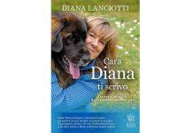 Diana Lanciotti con il libro cara Diana ti scrivo