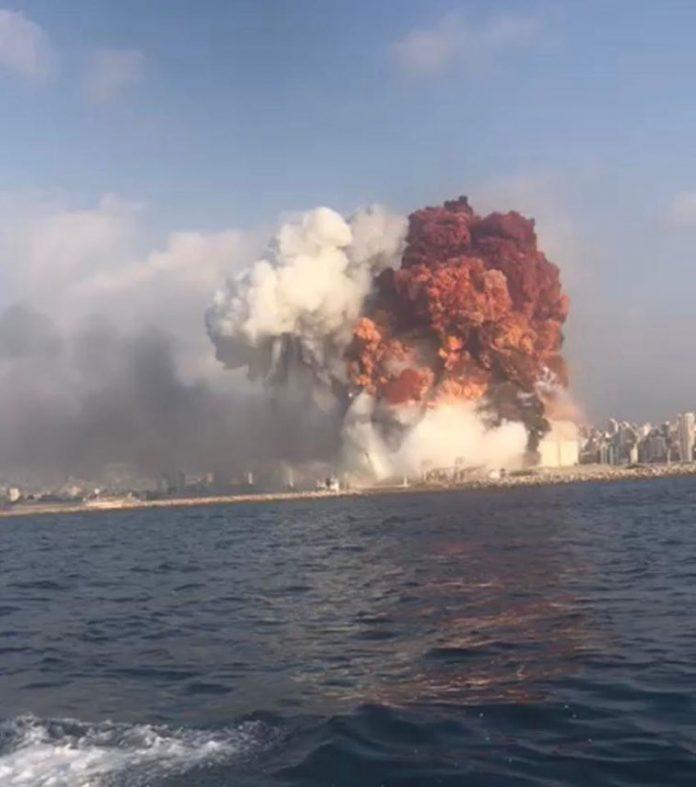 esplosione di beirut