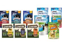 snacks cane gatto purina
