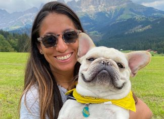 Giulia Tardani Pet Influencer con Karl il suo magnifico French Bulldog