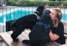 Michela-Sciorio-con-i-suoi-cani