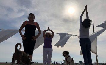 Festival dello yoga al Baubeach