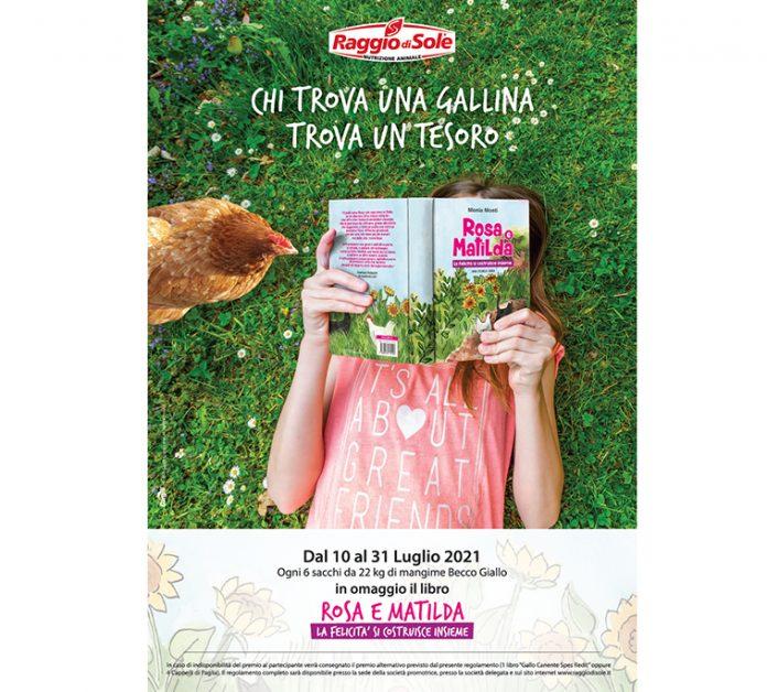 libro-rosa-Matilda-iniziativa-raggio-di-sole